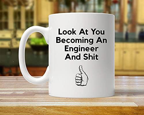 Ingeniero regalo nuevo ingeniero regalo de graduación para ingeniero ingeniero ingeniero taza divertido regalo ingeniero regalo ideas