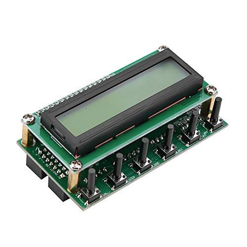 Generador de señal DDS, módulo generador de señal de función precisa de 0-55 MHz con pantalla LCD, basado en AD9850