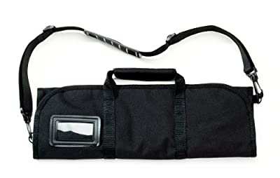 Victorinox 7.4012.6 Knife Roll for 8 Knives, Black, 20 1/2 X 5 X 1 inches by Victorinox Swiss Army