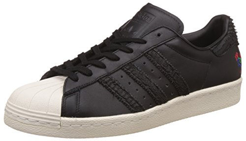 adidas Superstar 80s CNY Year of The Rooster Black Black White 44.5