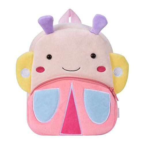 Children's Backpacks - WENTS Cute Small Toddler Kids Backpack Plush Animal Cartoon Mini Children Bag for Baby Girl Boy Age 1-3 Years