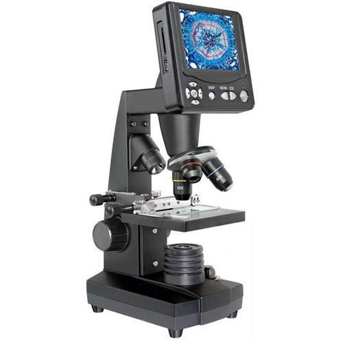 Bresser 50-500x LCD LED Microscope,3.5in Display,5 MP 5201000