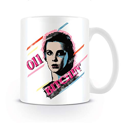 Stranger Things MG25270 Taza Bitchin, 315 milliliters, cerámica