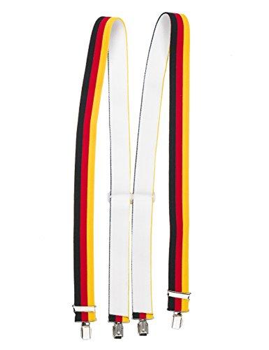 Hosentr�ger 4 Clips (X - Form), Deutschland , One Size