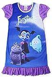 Camisetas de princesa Disney con el Rey León, Aladino, Cenicienta, La Patrulla Canina, La Sirenita. Producto oficial para niños, camisón para princesas Vampirina 4-5 Años