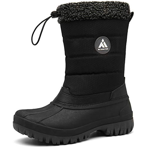 Mishansha Women's Snow Boots Thickening Waterproof Ski Boots Resistant Winter Shoes Warm Fur Lined...