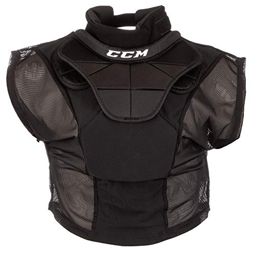 CCM Pro Shirt Style Hockey Goalie Neck Protector - Senior