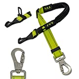 TEAYPET Dog car Seat Belt | Pet Safety Belt for Travel and Daily Use,Equipped with Adjustable,Durable Nylon Harness and Restraint Lockable Swivel Carabiner.Double Safety Guarantee Design