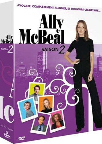 Ally McBeal : intégrale Saison 2 - coffret 6 DVD