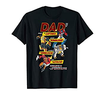 Transformers Dad You Are Smart Brave Strong Fast T-Shirt