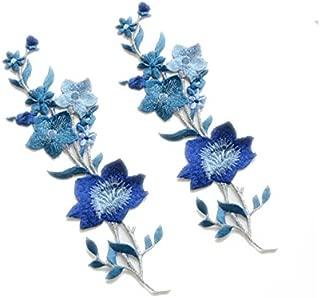 Best blue flower applique Reviews