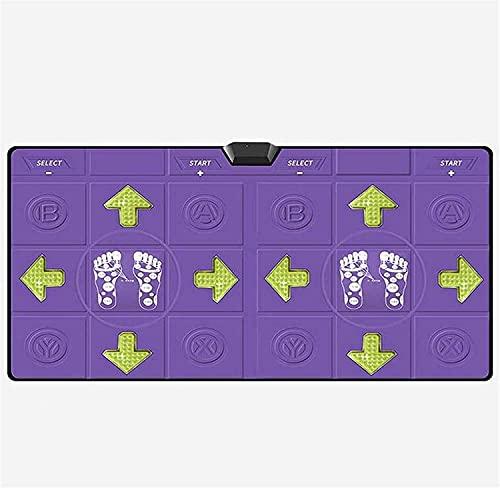 NKTJFUR Doble 30mm Ultra-grose Máquina Multifuncional Máquina de TV de Doble Uso de Danza de Danza de duebles, Adecuado para Entretenimiento para el hogar y Regalos Infantiles, Rosa (Color : Purple)