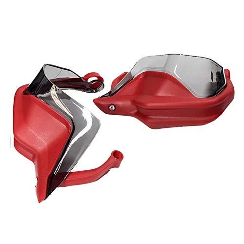 FLLOVE FANGLIANG R1250GS R1250GSA Extensiones DE GUATRÍA Mano Extensiones DE Freno Persona DE ABRJO Protector HANDGUARD Shield Fits para BMW R 1250 GS/GSA 2018 2019 2020 (Color : Full Set Red 1)