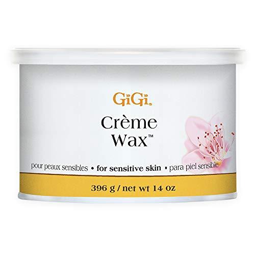 GiGi Creme Hair Removal Soft Wax for Sensitive Skin, 14 oz