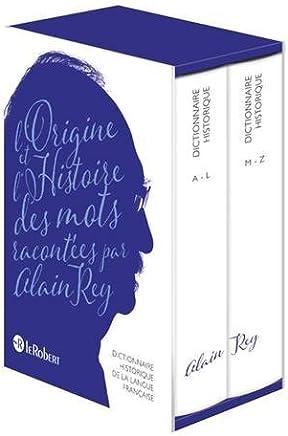 Dictionnaire historique de la langue francaise : Coffret en 2 volumes (French Edition) by Alain Rey(2016-10-15)