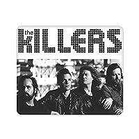 The Killers ザ・キラーズ ポスター マウスパッド 25x30cm ゲーミング オフィス最適 小さい 厚い 軽く ラバーマット アンチフリクション ノンスリップ 水洗い 耐ステイン ソフト 長方形 ゲーミング コンピューターマウスパッド 必需品 仕事 出張 学校 癒着 ファッション 美しい 人気