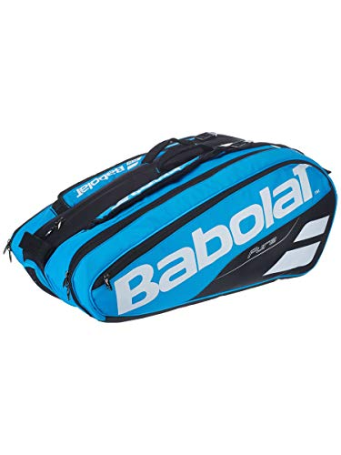 BABOLAT RH X 12 Pure Drive Raquetero, Adultos Unisex, Bleu MYS (Azul), Talla Única