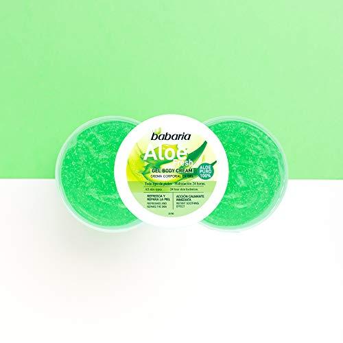 Babaria Crema Corporal en Gel Aloe Vera puro 100% 400ml