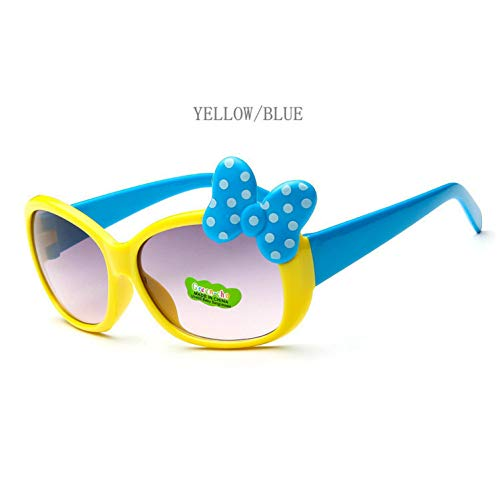 Taiyangcheng kinderveiligheidsbril, meisjeslegering, zonnebril, warme manier voor jongens, meisjes, babykinder-leuke zonnebril