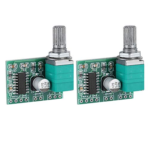 2 stks mini 2 * 3 w 5 v digitale eindversterker module, hoge kwaliteit, duurzame audio versterker module board voor PAM8403
