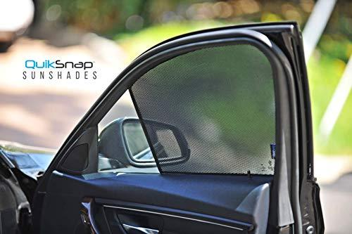 QuikSnap sunshades - Custom Side Window sunshades (Set of 4) (Compatible Subaru Outback 2015-2020)