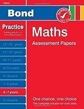Bond Maths Assessment Papers 6-7 years (Bond Assessment Papers) by Frobisher, Len, Frobisher, Anne New Edition (2011)