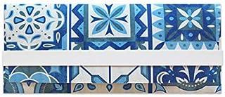 Porta soldi - azulejos - piastrella - cerimonie - busta portasoldi (formato 22 x 9,5 cm) + biglietto d'auguri vuoto all'in...