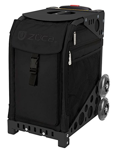 Züca - Neceser de viaje  Negro Schwarzer Rahmen, schwarze Tasche