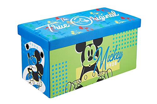 Disney Mickey Mouse Storage Chest, 30-inch Toy Organizer