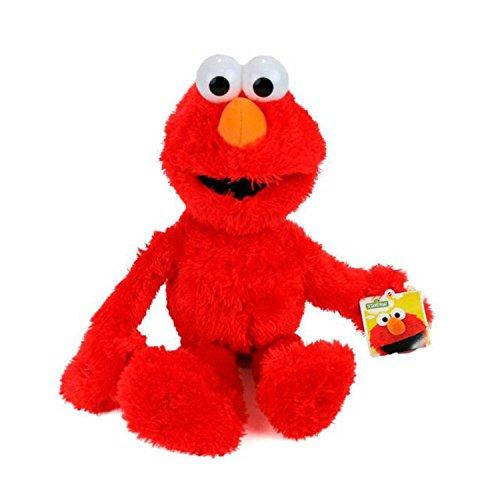 Sesame Street Artículo Original con Licencia Figuras de Felpa (Elmo)