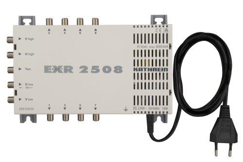 Kathrein EXR 2508 Satelliten-ZF-Vertzeilsystem Multischalter (1 Satellit, 8 Teilnehmeranschlüsse, Klasse A)