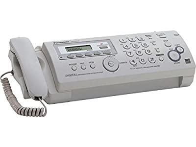 Compact Plain Paper Fax/Copier with Answering System