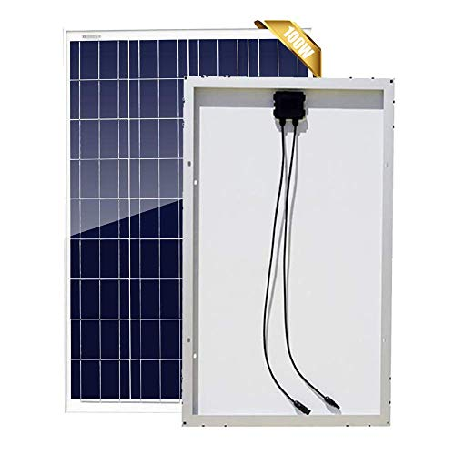 DSHUJC Paneles solares policristalinos de 300 vatios y 12 V, Paquete de 3 módulos fotovoltaicos de células de Alta eficiencia, 12 24 voltios, Cargador de batería para