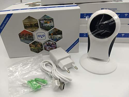 Câmera Ip Wireless Visão Noturna Acesso Remoto com Smartphone e Leitor Micro Sd K-mex AW-P103