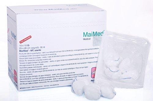 MaiMed® - MT, Mulltupfer steril wallnussgroß(50 x (2+3))