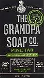 Grandpa's Brands Pine Tar Soap, 4.25 Ounce by Grandpa's