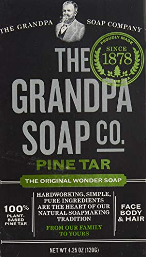 Grandpa\'s, Wonder Pine Tar Soap, 4.25 oz (120 g)