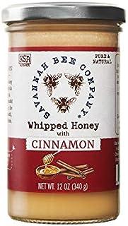 Whipped Honey - Cinnamon 12 Ounce Tower by Savannah Bee Company