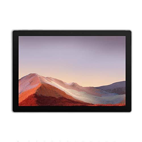 Microsoft Surface Pro 7 – PC Hybride (écran 12.3 pouces, Intel Core i5, 8Go de RAM, 128Go de stockage SSD) – Platine