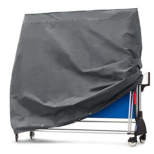 YAHAO Cubierta de Mesa de Ping Pong Al Aire Libre Impermeable Vertical,Cubierta de Mesa de Tenis de Mesa a Prueba de Rayos UV, Impermeable, Cubierta a Prueba de Humedad y Polvo,150cm