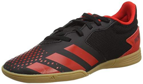 adidas Predator 20.4 In Sala, Zapatillas de Fútbol, Negro (Cblack/Actred/Cblack 000), 38 EU