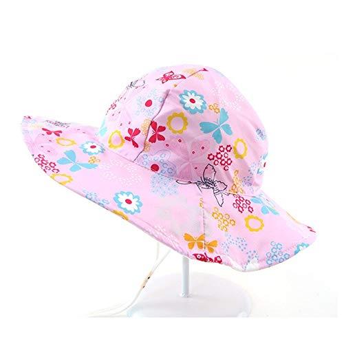Nuevo Sombrero de Verano para bebé con protección UV, Gorra para niños, Gorra de Playa para niños al Aire Libre, Gorra de Sol para niñas, Gorra de Pescador Infantil de Dibujos Animados-a1