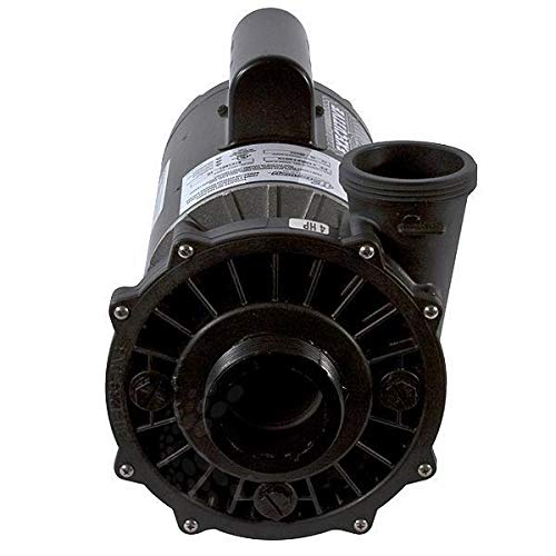Waterway Plastics 3721621-1D Executive 56 Frame 4 Horsepower Spa Pump, 230-Volts