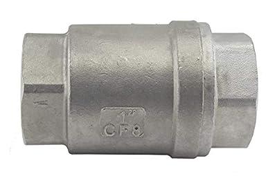 """1"""" Check Valve Stainless Steel WOG 1000 In-line Low Cracking Pressure Metal t... by Duda Diesel"""