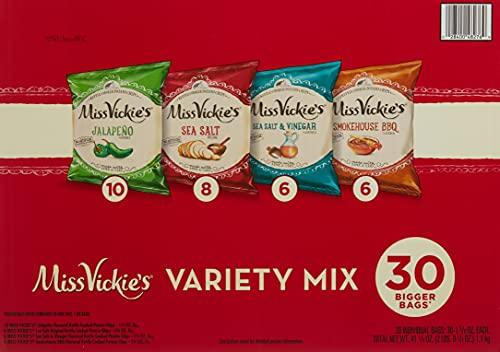 Miss Vickies Variety Mix Potato Chips (Net Wt 41.2 Oz),, ()
