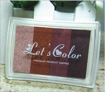Takalao Ink Pads Regenboog - DIY Multi Colour Craft - Door Kleur Splurge, Voor gebruik met Rubber Stempels op Papier, Hout, Stof Vingerafdruk Scrapbook Schilderen Bruiloft Kinderen