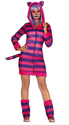 Fiestas Guirca Kostüm Cosplay Erwachsene Tabbykatze Frau