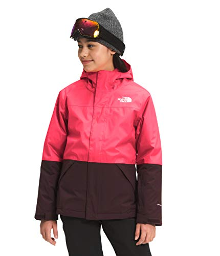 The North Face Girls' Freedom Triclimate, Paradise Pink, Large