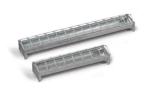 Futtertrog für Küken aus Metall 30cm