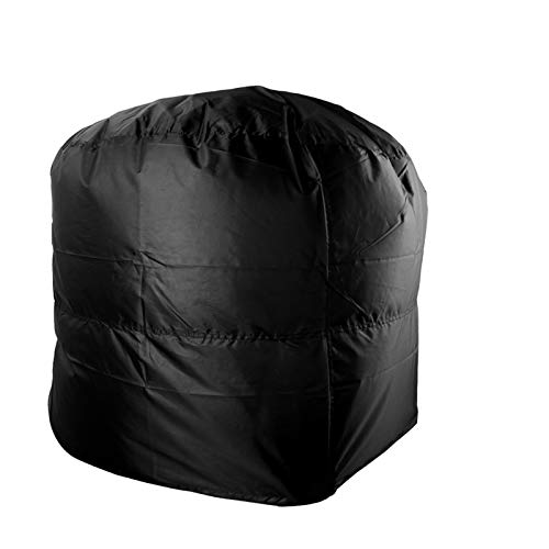 funda barbacoa 58x77cm / 66x100cm Protección de lluvia Camping de la barbacoa al aire libre cubierta anti polvo Redondo Barbacoa Cubierta de parrilla a prueba de agua Cubierta de la parrilla Funda Bar